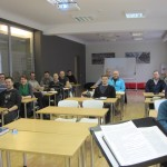 Pastors in training in Latvia